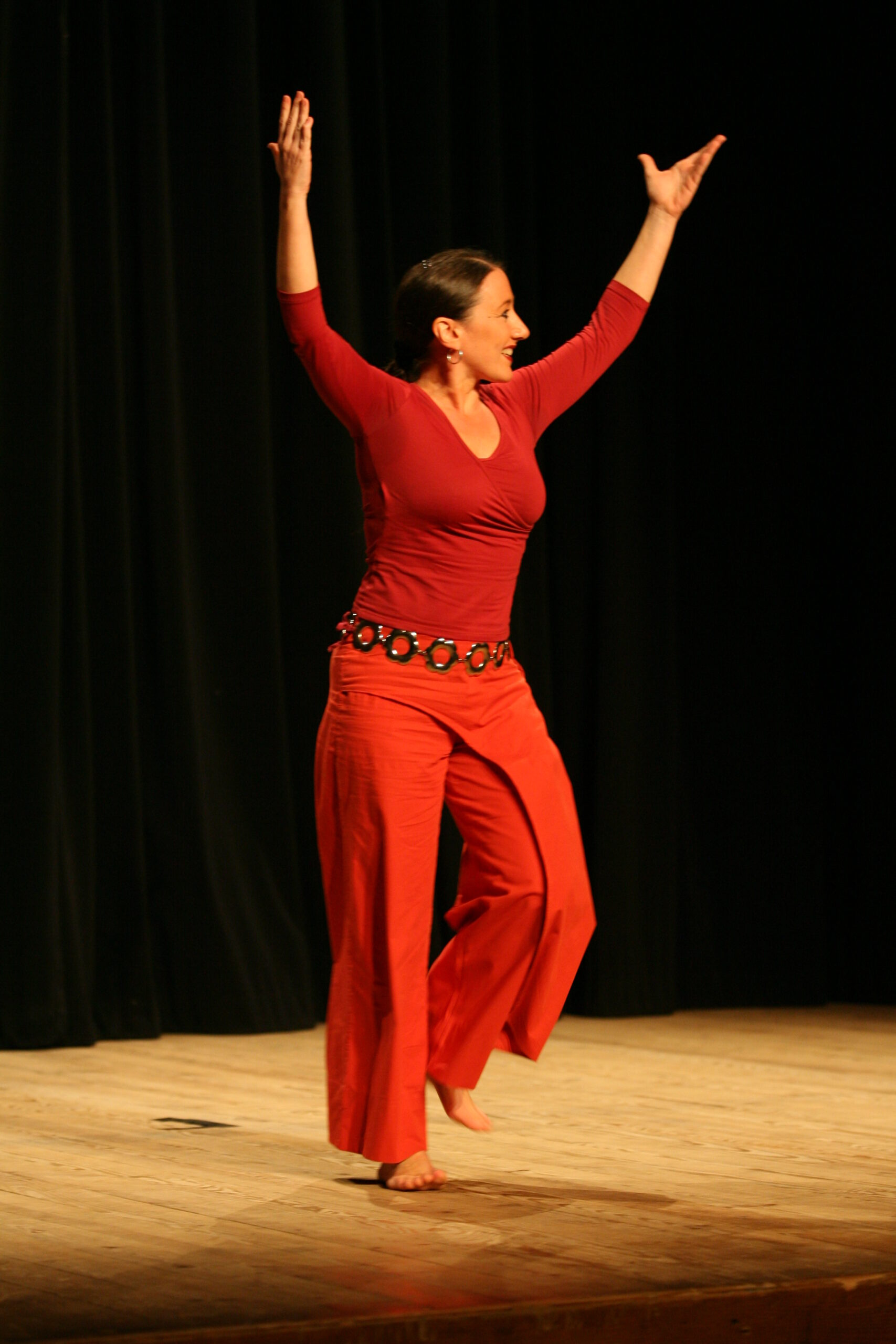 Nathalie Le Boucher - Danseuse & conteuse © Fabrice Le Boucher