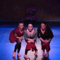 Le Chant du pied - Les Kathakali Girls